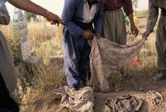 Susan Meiselas - Kurdistan graves