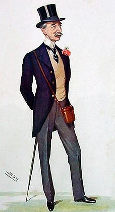 "Owner Mr. W. Hall Walker MP by Leslie Ward (""Spy""), 1906"