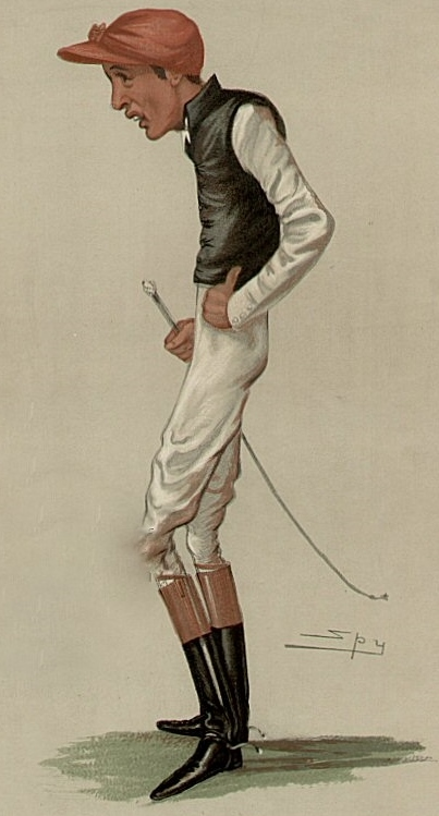 """The Favorite Jockey"" by Fred Archer, 1881"