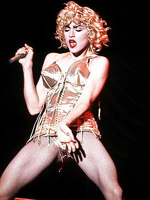 Madonna in Gautier bustier Blond Ambition tour 1992