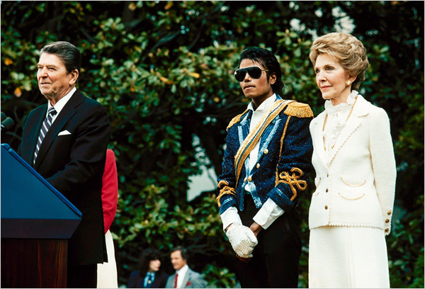 1984 award ceremony, in which President Ronald Reagan acknowledged Mr. Jackson's contribution to the drunk-driving awareness program