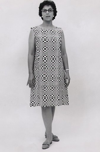 Scott Paper dress, 1966