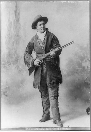 calamity jane  by h  r  locke